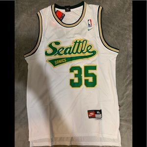 Kevin Durant #35 Seattle SuperSonics Jersey